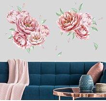 Bilderwelten - Adesivo murale fiori - Set di