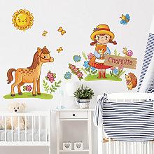 Bilderwelten - Adesivo murale per bambini -