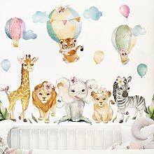 Bilderwelten - Adesivo murale - Set di animali