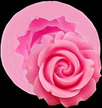 BINGFANG-W Non-stick 3d rosa forma stampo di