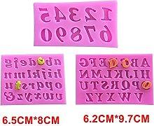 BINGFANG-W Non-stick Stampi per torta alfabeto