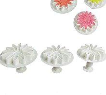 Bingyu 3 pezzi di fiore di sole crisantemo
