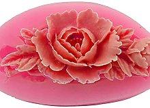 Bingyu - Stampo in silicone per torte, colore: Rosa