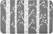 Birch Grove Aspen Alberi Foglie Di Taglio Laser