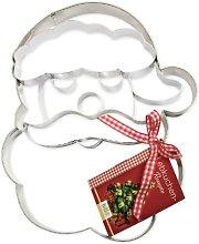Birkmann Stampo Viso Babbo Natale, Acciaio