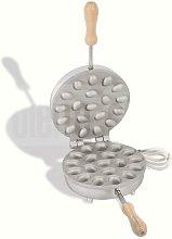 Biscottiera elettrica per ferratelle waffel - noci