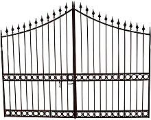 Biscottini - Cancello in Ferro Pieno Decorato