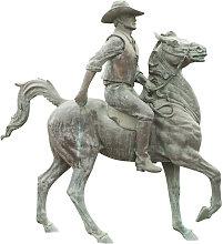 Biscottini - Statua in fusione di bronzo
