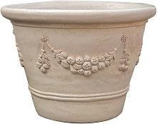 Biscottini - Vaso in Terracotta smaltato 100% Made
