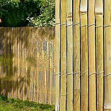 BISEN - Paravento in bambù, altezza 1 m x