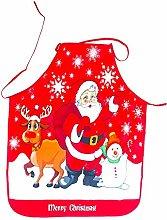 BJ-SHOP Grembiuli Natalizi Natale Grembiule Adulti