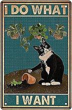 Black Cat Decor divertente decorazione da parete