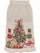 Blanc Mariclo' mezzo grembiule serie Christmas