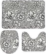 Blooming 65 - Set di 3 tappetini da bagno