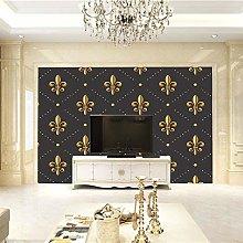 BLZQA Murali Sticker da muro Stampa dorata Murali