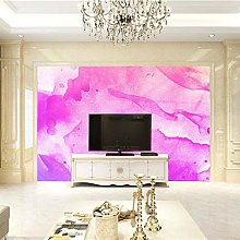 BLZQA Murali Sticker da muro Stampa rosa Murali