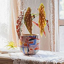 Boho Ceramica Vaso Di Fiori,Moderno Arte