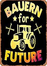 Bokueay Bauern for Future Divertente Targa in