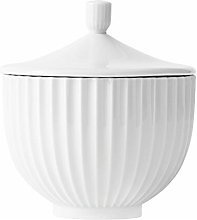 Bomboniera, Bianco, 16x16x15 - Lyngby Porcelã ¦ N