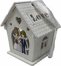 Bomboniera Matrimonio scatolina in Legno
