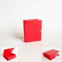 Bomboniera Scatola Confetti Modello Libro Lino