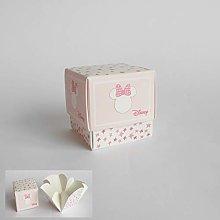 Bomboniera Scatola cubo Confetti Minnie Disney