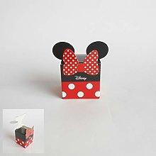 Bomboniera Scatola cubo Confetti Minnie Disney set
