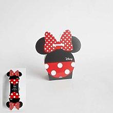 Bomboniera Scatola per Confetti Minnie Disney Set