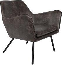 Bon Poltrona lounge grigio scuro