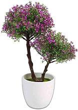Bonsai Artificiale Albero Decorativo con Vaso