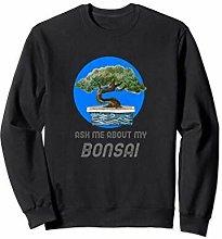 Bonsai Tree Ask Me About My Bonsai Felpa