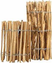 BooGardi - Steccato in legno di nocciolo per