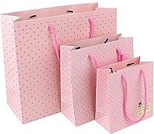 Borsa rosa 20 pezzi  3 taglie disponibili