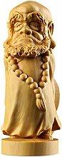 Bosso 9 cm Dharma Scultura Figura in legno Statua