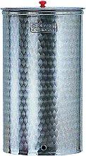 botte 400 lt fusto in acciaio inox con tappo