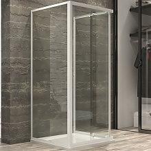 box cabina doccia corner 3 lati cristallo temprato