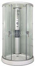Box cabina doccia curvo (90x90xh212) mod. GLASS90