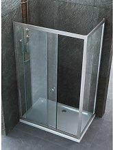 Box Doccia 70x170 Angolare 6 mm Anta Scorrevole
