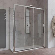 Box doccia 70x170 cm 3 Ante Scorrevoli vetro 6 mm