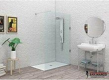 Box doccia a parete fissa Essenzial Walk in >