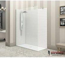 Box doccia a parete fissa Minimal walk in >
