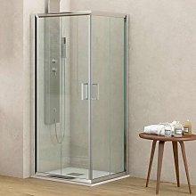 Box doccia ad angolo 70x70 altezza 170 cristallo