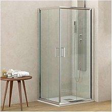 Box doccia ad angolo 70x70 altezza 180 cristallo
