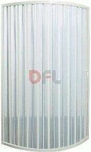 Box doccia ad una porta bianco 80x80 - h 185