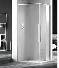 Box doccia angolare 120x80 cm apertura scorrevole