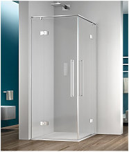 Box doccia angolare 90x120 cm porta battente