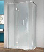 Box doccia angolare 90x70 cm anta fissa porta