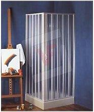 Box doccia angolare a soffietto spazio giove cm