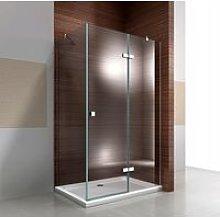 Box doccia angolare con porta a battente EX403C -