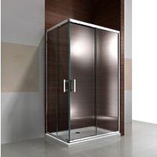 Box doccia angolare con porta scorrevole EX506-80